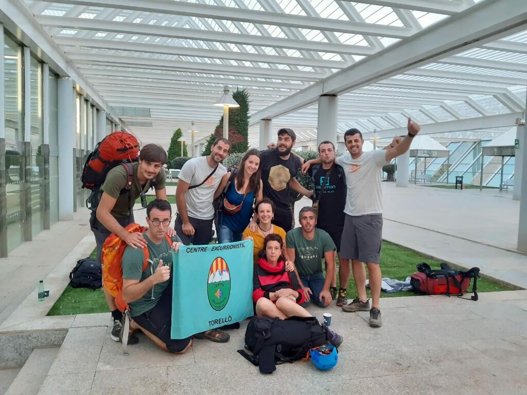 I la foto de grup, just abans de marxar de Palma de Mallorca.